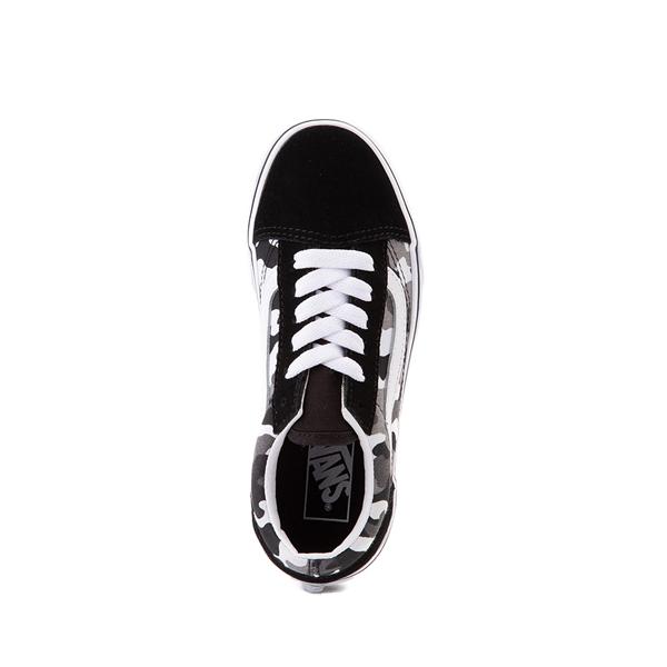 alternate view Vans Old Skool Skate Shoe - Little Kid - Black / White CamoALT2