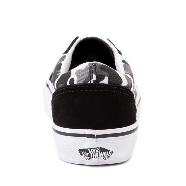 alternate view Vans Old Skool Skate Shoe - Little Kid - Black / White CamoALT4