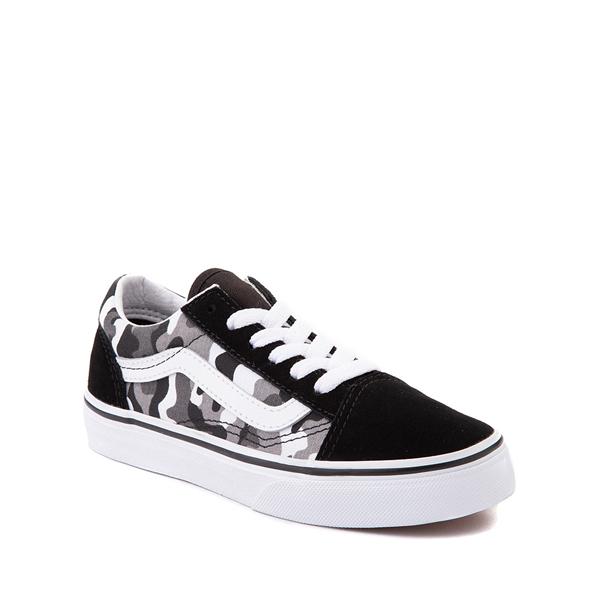 alternate view Vans Old Skool Skate Shoe - Little Kid - Black / White CamoALT5