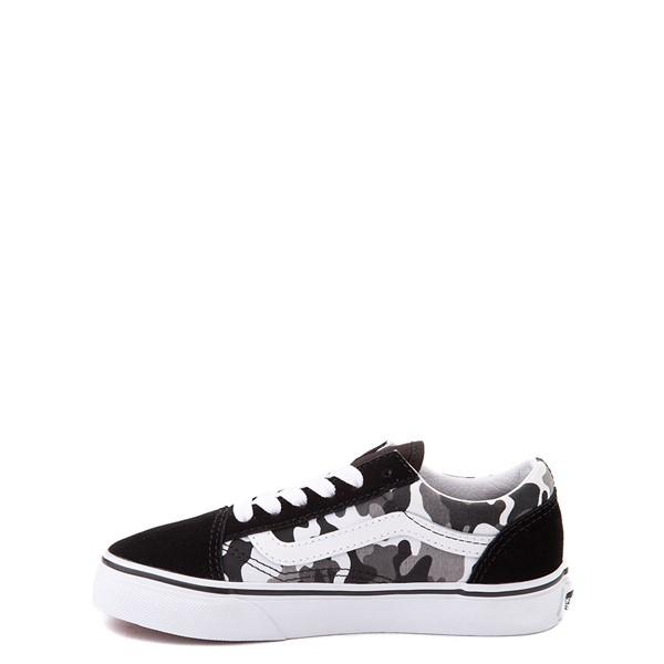 alternate view Vans Old Skool Skate Shoe - Big Kid - Black / White CamoALT1