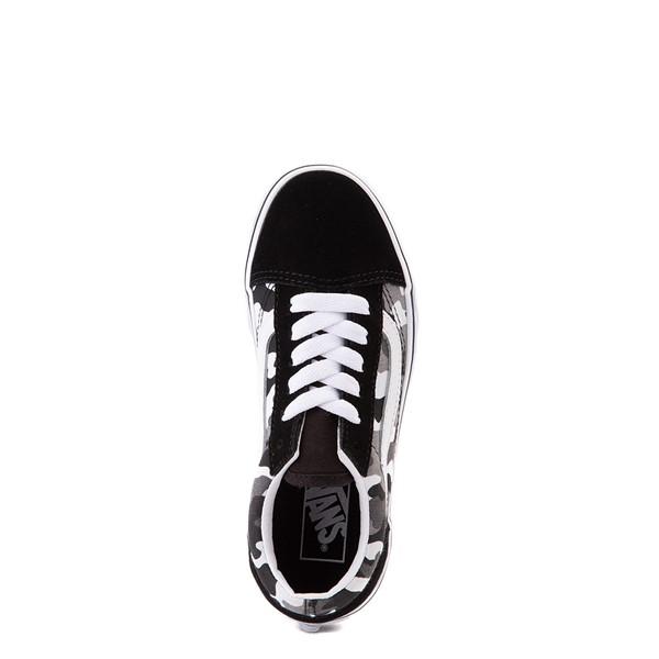 alternate view Vans Old Skool Skate Shoe - Big Kid - Black / White CamoALT2