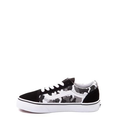 Alternate view of Vans Old Skool Skate Shoe - Big Kid - Black / White Camo
