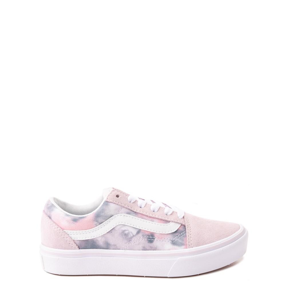 Vans Old Skool Cloud Wash ComfyCush® Skate Shoe - Little Kid - Orchid Ice
