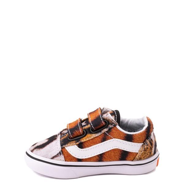 alternate view Vans x Project CAT Old Skool V ComfyCush® Skate Shoe - Baby / Toddler - Multi-TigerALT1