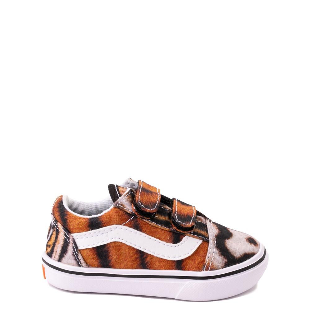 Vans x Project CAT Old Skool V ComfyCush® Skate Shoe - Baby / Toddler - Multi-Tiger