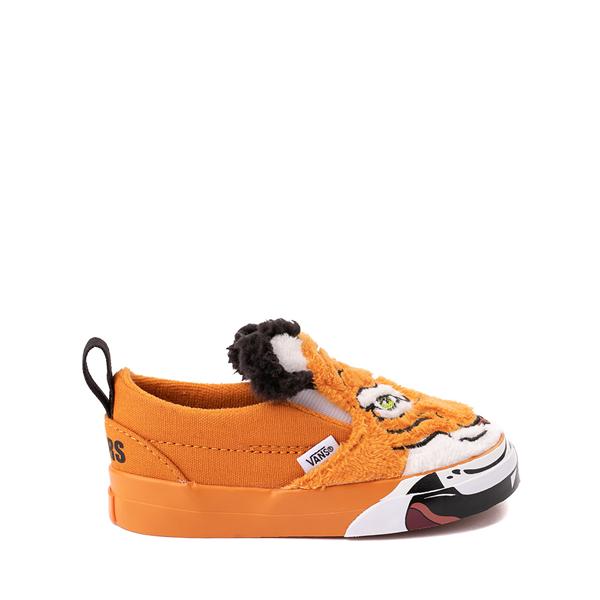 Vans x Project CAT Slip On V Skate Shoe - Baby / Toddler - Wild Tiger