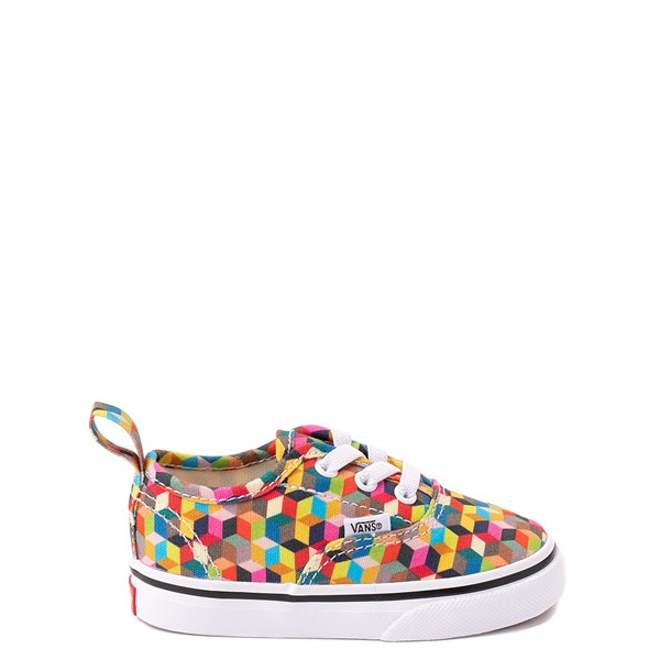 Vans Authentic 3D Checkerboard Skate Shoe - Baby / Toddler - Multicolor