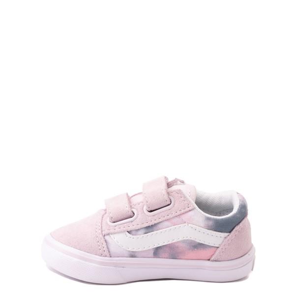 alternate view Vans Old Skool V Cloud Wash ComfyCush® Skate Shoe - Baby / Toddler - Orchid IceALT1