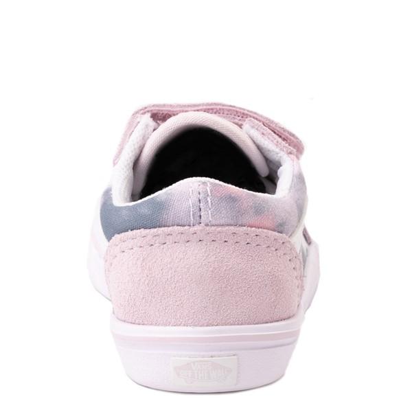 alternate view Vans Old Skool V Cloud Wash ComfyCush® Skate Shoe - Baby / Toddler - Orchid IceALT4