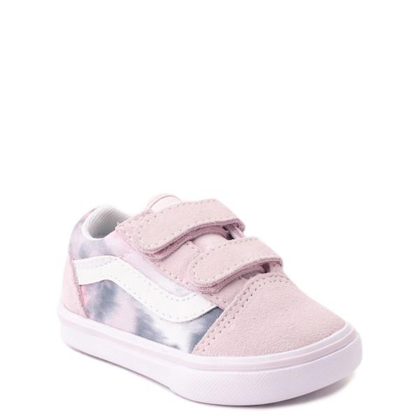 alternate view Vans Old Skool V Cloud Wash ComfyCush® Skate Shoe - Baby / Toddler - Orchid IceALT5