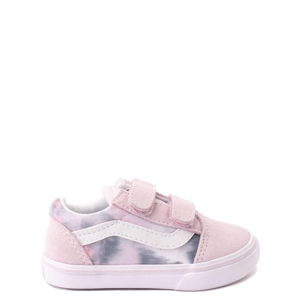 Vans Old Skool V Cloud Wash ComfyCush® Skate Shoe - Baby / Toddler - Orchid Ice
