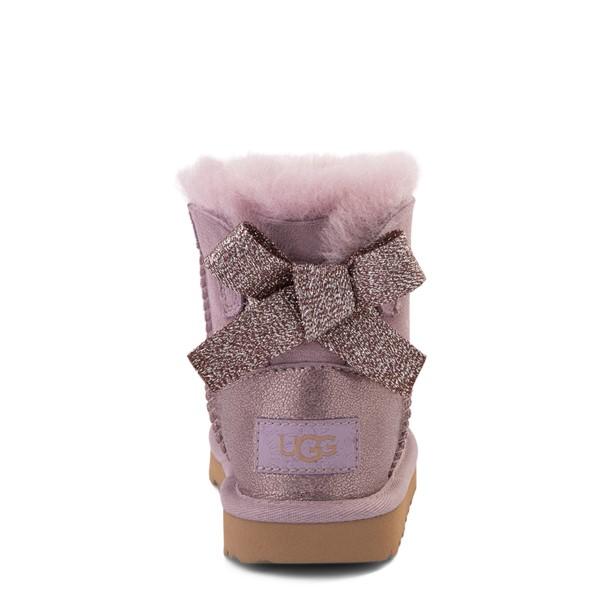 alternate view UGG® Mini Bailey Bow Glitz Boot - Toddler / Little Kid - ShadowALT4