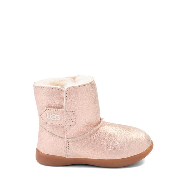 Main view of UGG® Keelan Glitter Boot - Baby / Toddler - Rose Gold