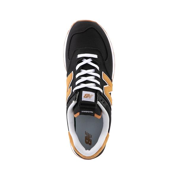 alternate view Mens New Balance 574 Athletic Shoe - Black / TanALT2