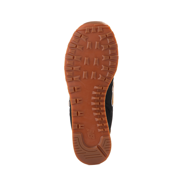 alternate view Mens New Balance 574 Athletic Shoe - Black / TanALT3