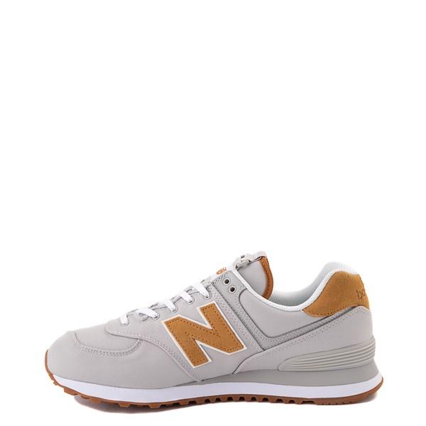 alternate view Mens New Balance 574 Athletic Shoe - Gray / TanALT1