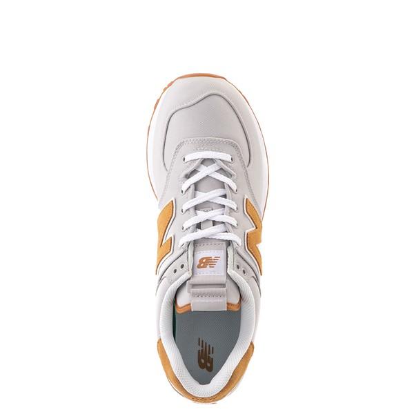 alternate view Mens New Balance 574 Athletic Shoe - Gray / TanALT2