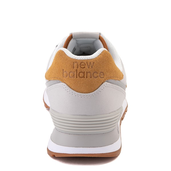 alternate view Mens New Balance 574 Athletic Shoe - Gray / TanALT4