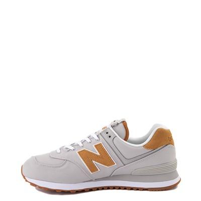Alternate view of Mens New Balance 574 Athletic Shoe - Gray / Tan