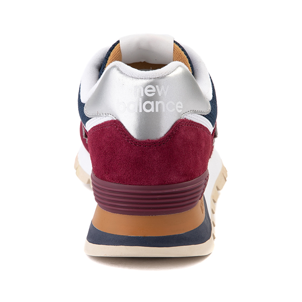 alternate view Mens New Balance 574 Athletic Shoe - Garnet / NavyALT4