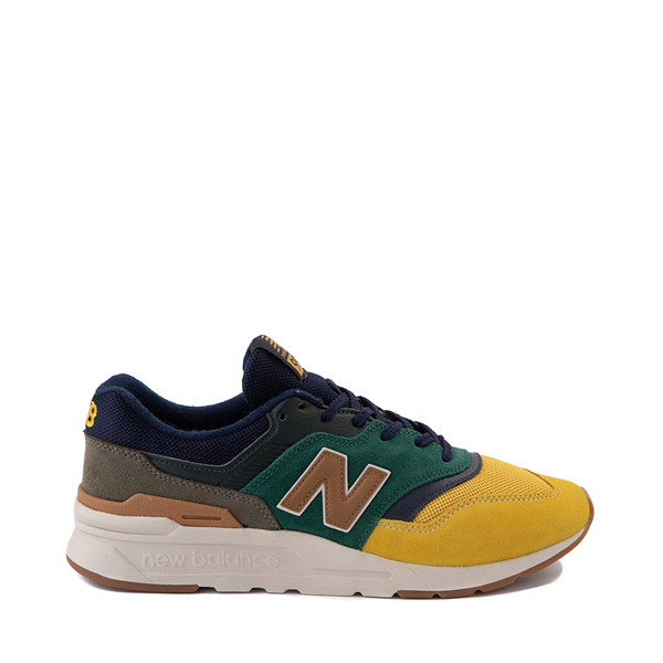 Mens New Balance 997H Athletic Shoe - Spruce Green / Harvest Yellow