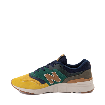 Alternate view of Mens New Balance 997H Athletic Shoe - Spruce Green / Harvest Yellow