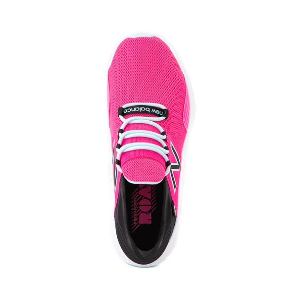 alternate view Womens New Balance Fresh Foam Roav Athletic Shoe - Fuchsia / BlackALT2