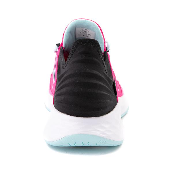 alternate view Womens New Balance Fresh Foam Roav Athletic Shoe - Fuchsia / BlackALT4