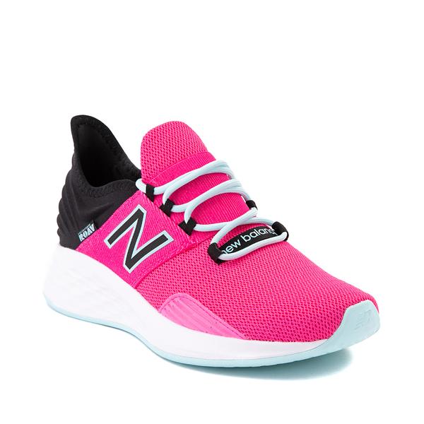 alternate view Womens New Balance Fresh Foam Roav Athletic Shoe - Fuchsia / BlackALT5