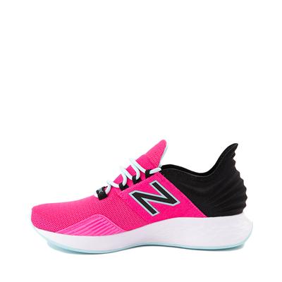 Alternate view of Womens New Balance Fresh Foam Roav Athletic Shoe - Fuchsia / Black