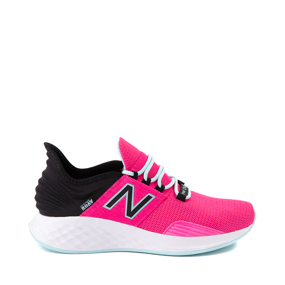 Womens New Balance Fresh Foam Roav Athletic Shoe - Fuchsia / Black