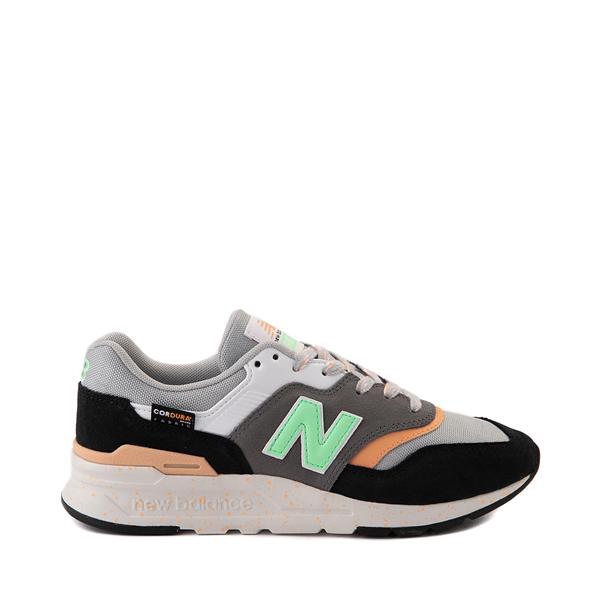 Womens New Balance 997H Athletic Shoe - Black / Gray / Mint