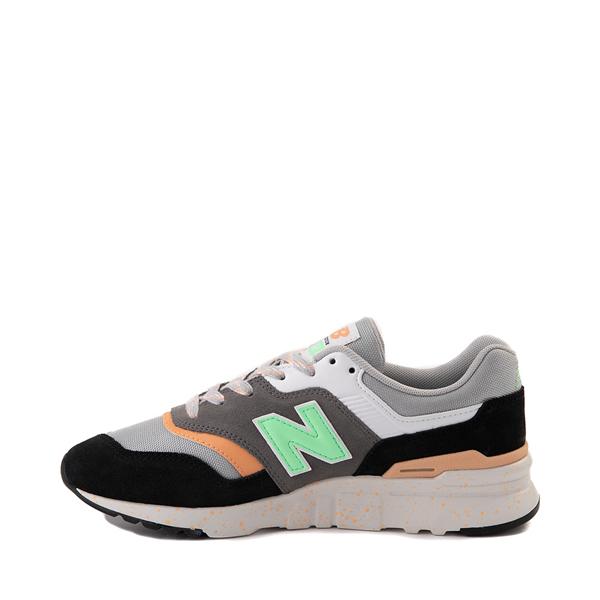alternate view Womens New Balance 997H Athletic Shoe - Black / Gray / MintALT1