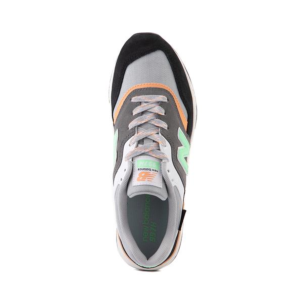 alternate view Womens New Balance 997H Athletic Shoe - Black / Gray / MintALT2