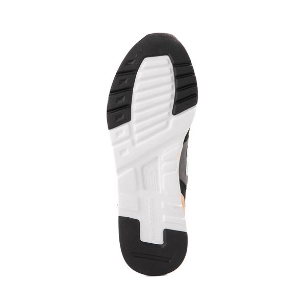 alternate view Womens New Balance 997H Athletic Shoe - Black / Gray / MintALT3