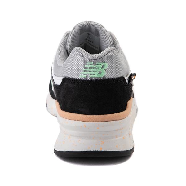 alternate view Womens New Balance 997H Athletic Shoe - Black / Gray / MintALT4