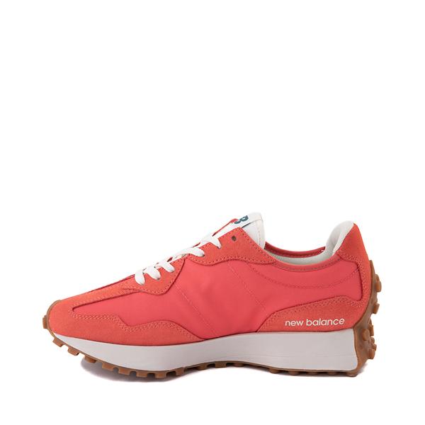 alternate view Womens New Balance 327 Athletic Shoe - Mars Red / Mountain TealALT1