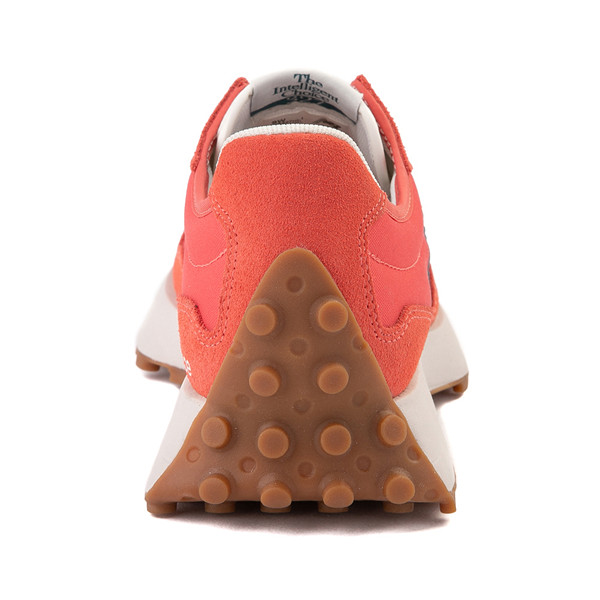 alternate view Womens New Balance 327 Athletic Shoe - Mars Red / Mountain TealALT4