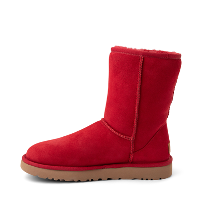 Alternate view of Womens UGG® Classic Short II Boot - Ribbon Red