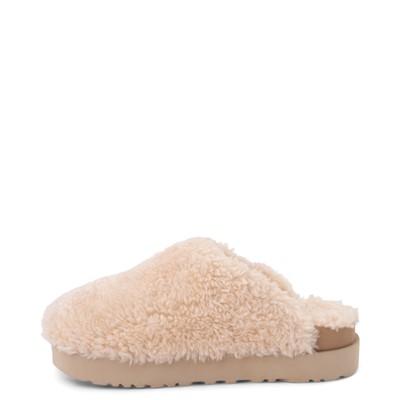 Alternate view of Womens UGG® Fuzz Sugar Clog - Natural