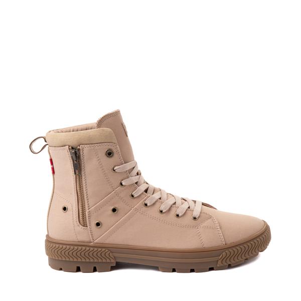 Mens Levi's Twill Sahara Combat Boot - Khaki