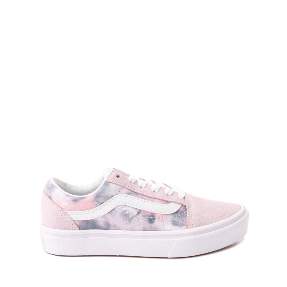 Vans Old Skool Cloud Wash ComfyCush® Skate Shoe - Big Kid - Orchid Ice