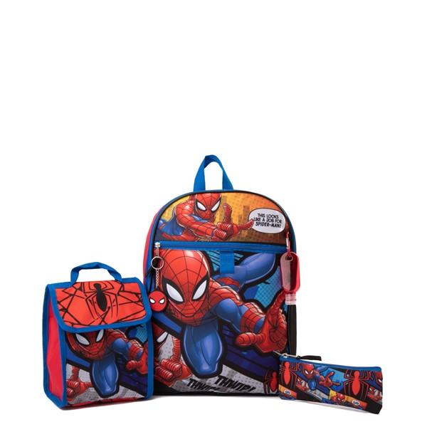Marvel Spider-Man Backpack Set - Red