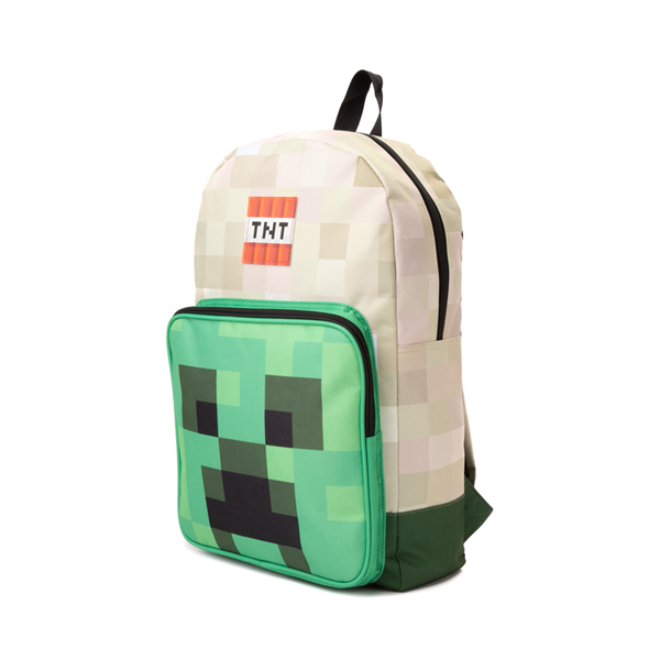 alternate view Minecraft Creeper Boom Backpack - GreenALT4