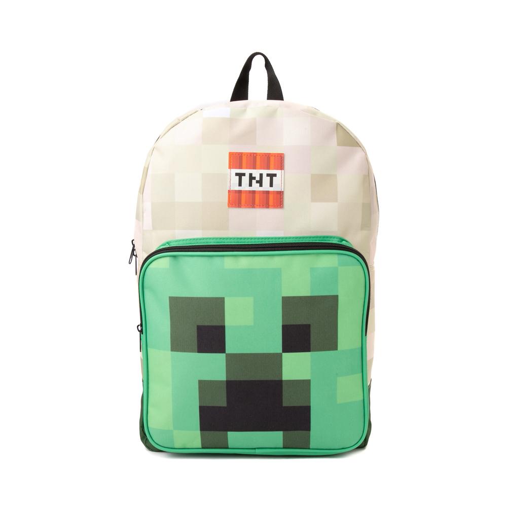 Minecraft Creeper Boom Backpack - Green