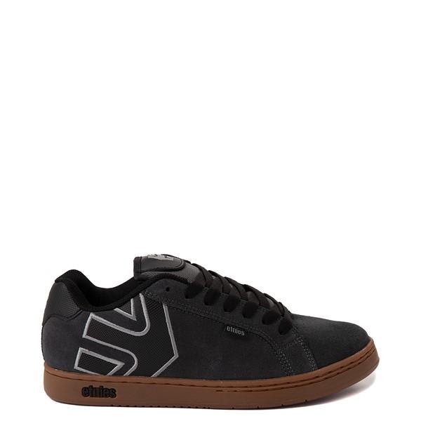 Main view of Mens etnies Fader Skate Shoe - Gray / Gum