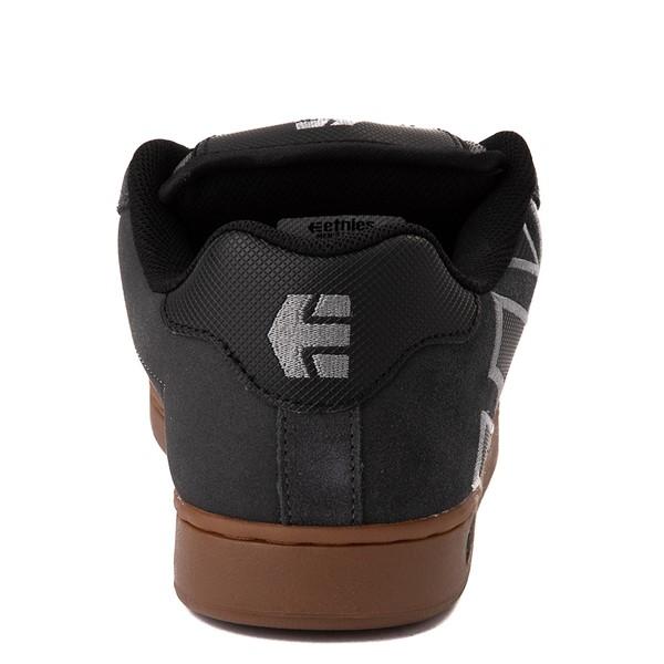 alternate view Mens etnies Fader Skate Shoe - Gray / GumALT4