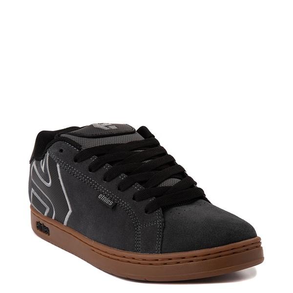 alternate view Mens etnies Fader Skate Shoe - Gray / GumALT5
