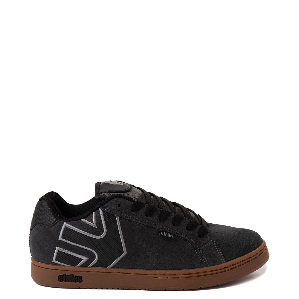 Mens etnies Fader Skate Shoe - Gray / Gum