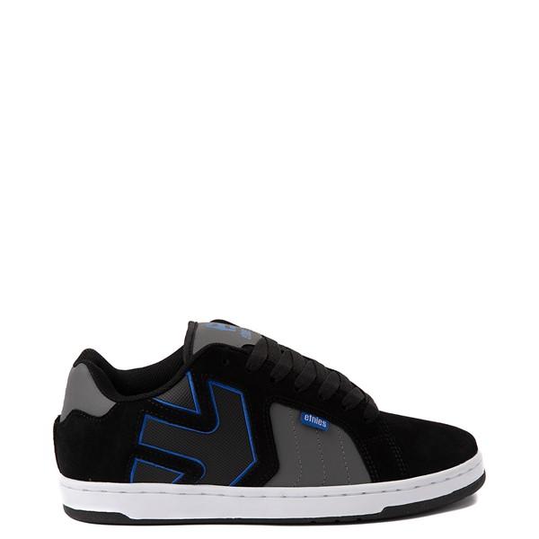 Mens etnies Fader 2 Skate Shoe - Black / Gray / Royal Blue